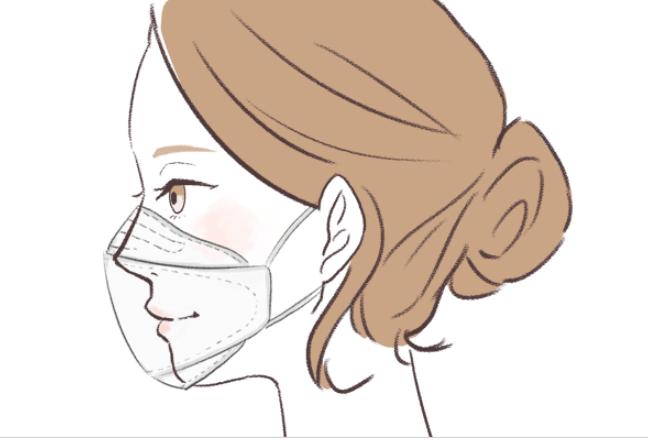 シャープクリスタルマスク